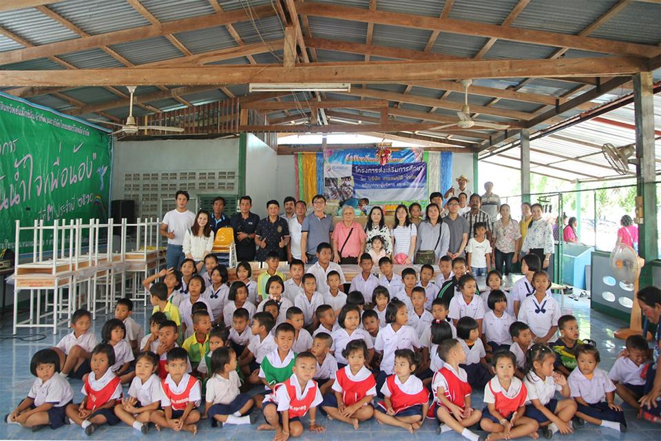 สมบัติทัวร์สนับสนุนกิจกรรมโครงการส่งเสริมการศึกษาโรงเรียนบ้านหนองผักแพว